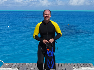 Picture of Tony Griffitts in Bora Bora